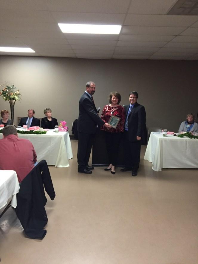 chamber dinner president's award