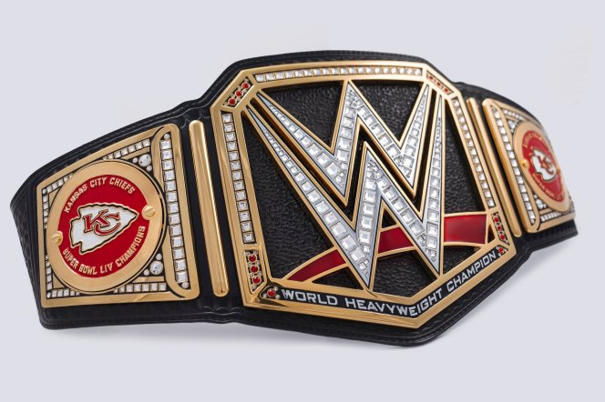wwe belt kansas city chiefs