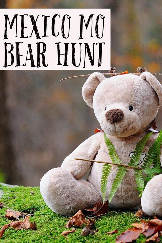 mexico stuffed bear hunt