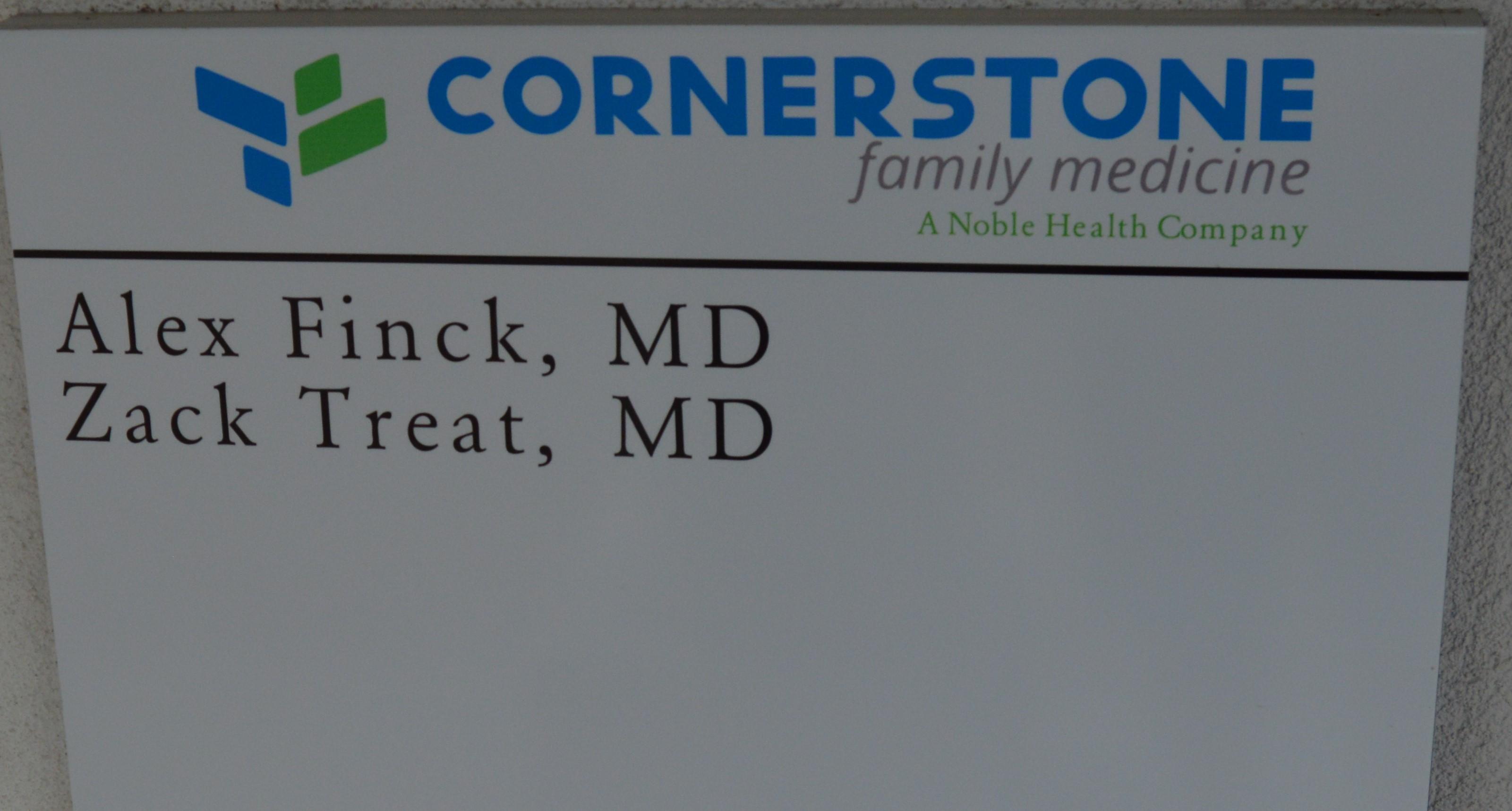 Ribbon Cutting At Noble Health's Cornerstone Family Medicine Clinic