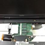 PowerBookをSSDに換装