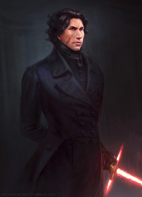 The Force Awakens: Regency Kylo Ren by TheRealMcGee