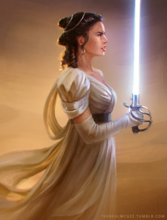 The Force Awakens: Regency Rey by TheRealMcGee