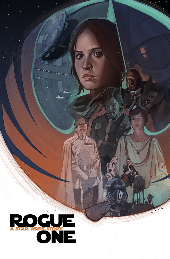 Rogue One Poster by Phil Noto