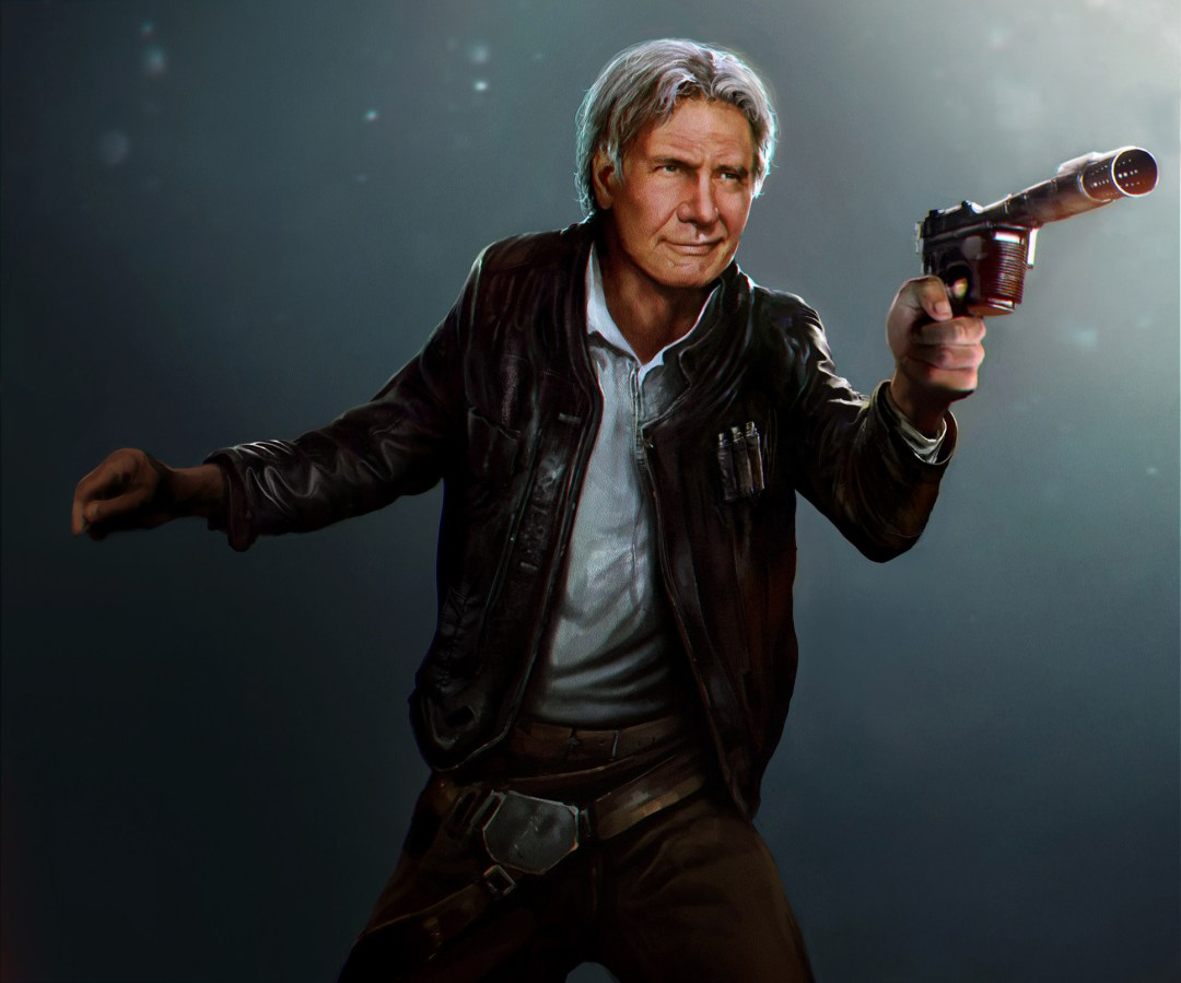 Han Solo from The Force Awakens by Mehdi Cheggour