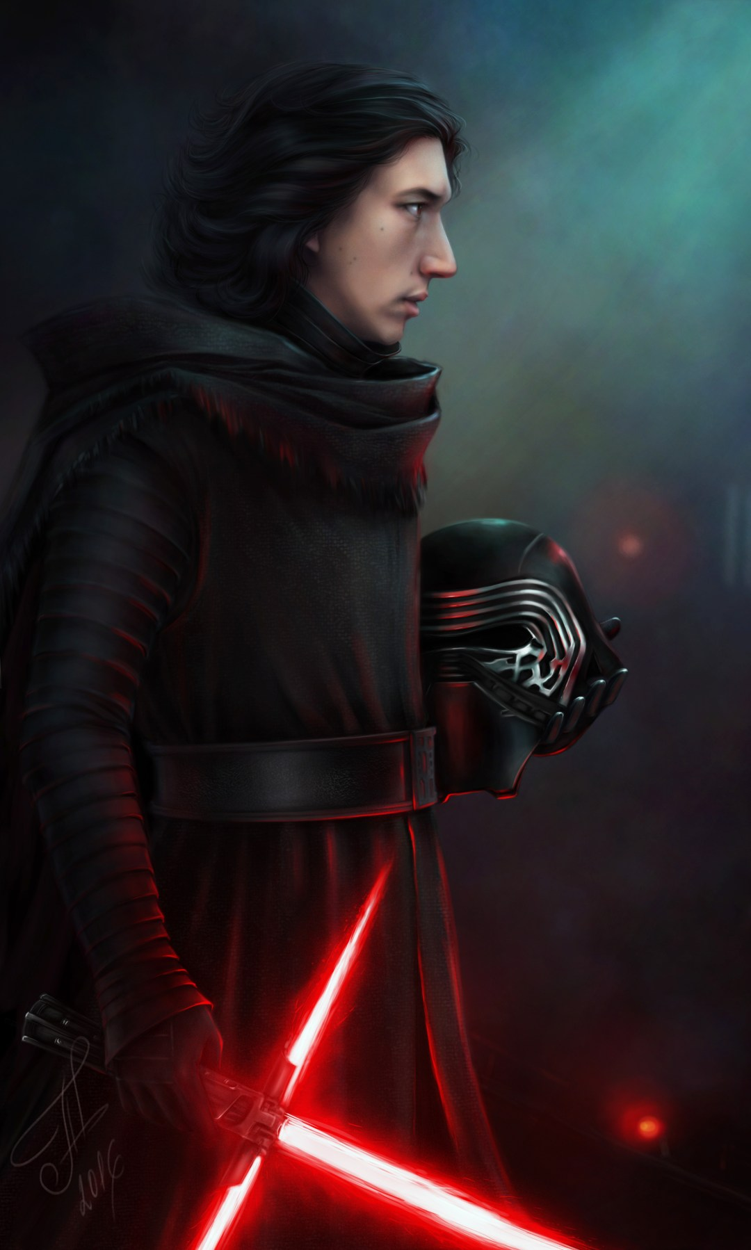 Kylo Ren from Star Wars: The Force Awakens by Kera