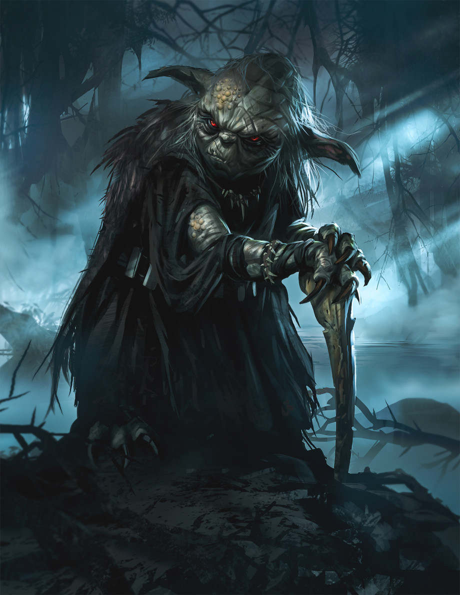 Dark Yoda by Daryl Mandryk