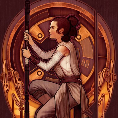 The Girl From Jakku by Megan Lara
