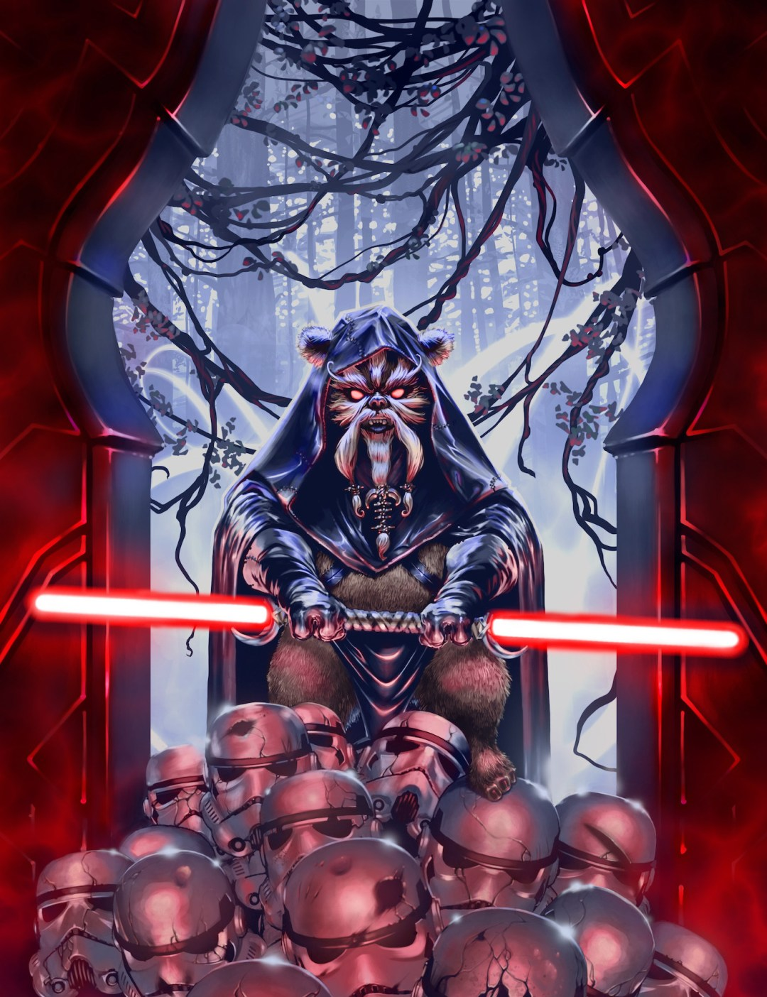 Shadows Of Endor by Fred Lang