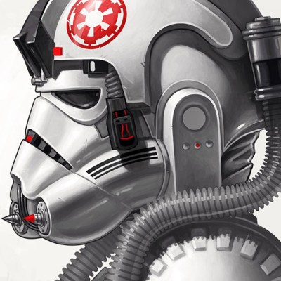 AT-AT Driver by Mike Mitchell