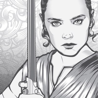 Rey by Joshua Smith