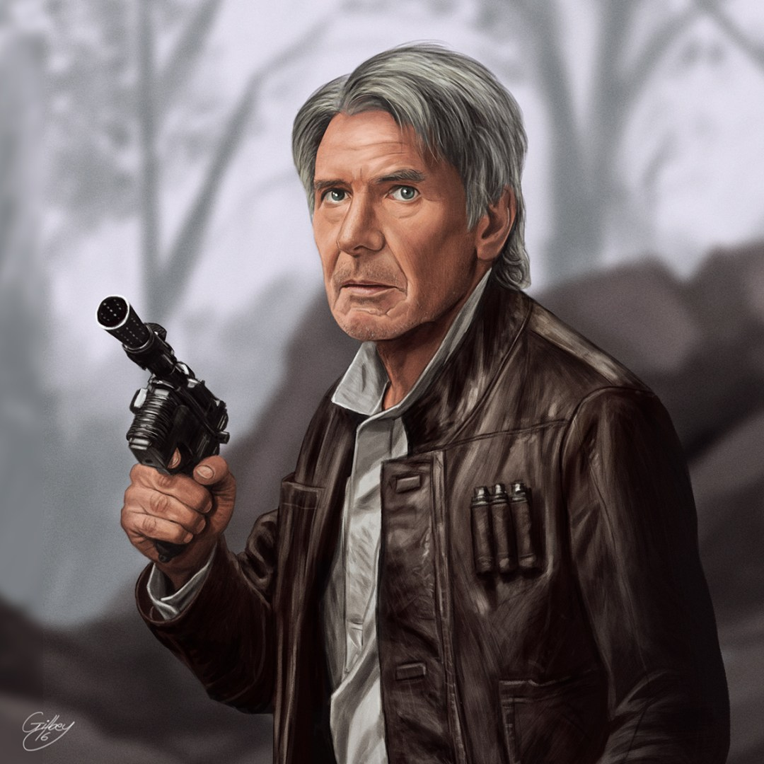 Han Solo by Sam Gilbey