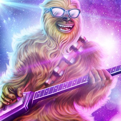 Heavy Metal Chewbacca by Danilo Rodrigues