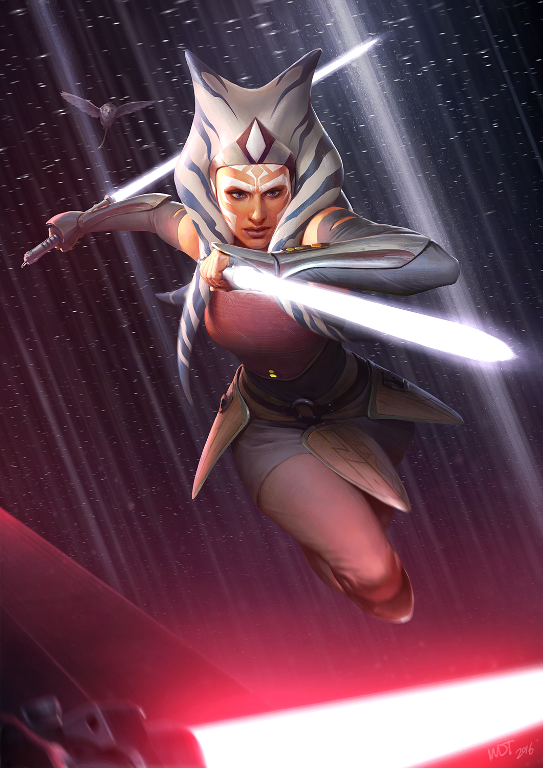 "Ahsoka ""I'm No Jedi"" by Darern Tan"