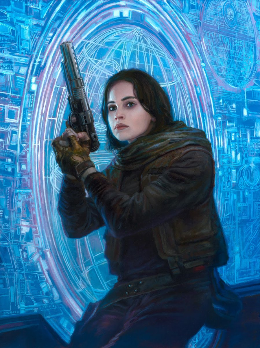 Jyn Erso by Donato Giancola
