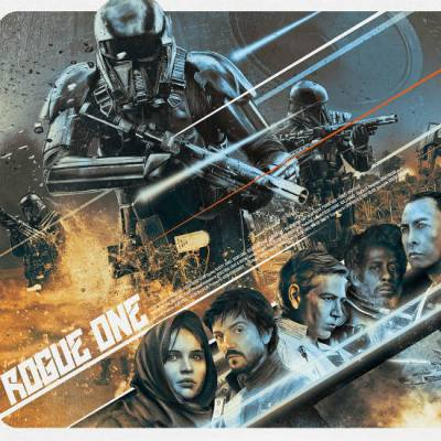Rogue One Poster by Rich Davies