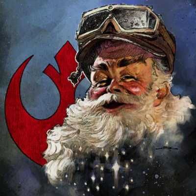 Rogue One Santa by Jason Buchwitz
