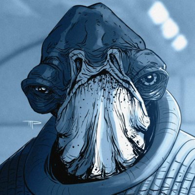 Admiral Raddus by Michael Pasquale