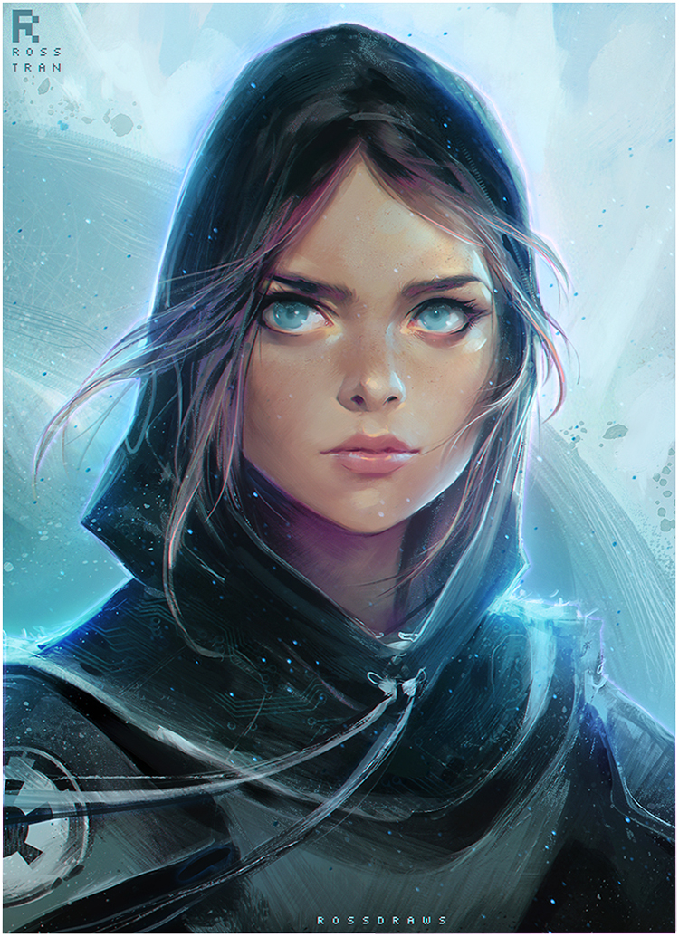Jyn Erso by Ross Tran