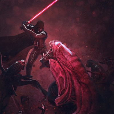 Vader's Fist vs Space Cockroaches by Guillem H. Pongiluppi