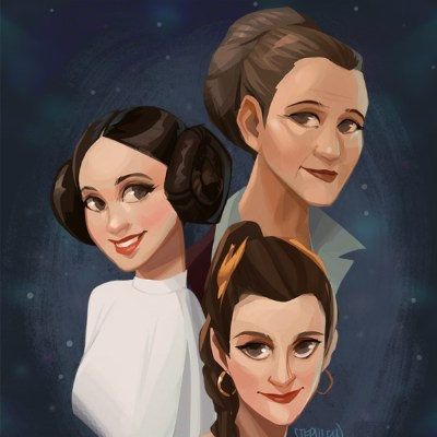 Leia by Steph Lew