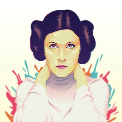 Princess Leia by Chad Villar