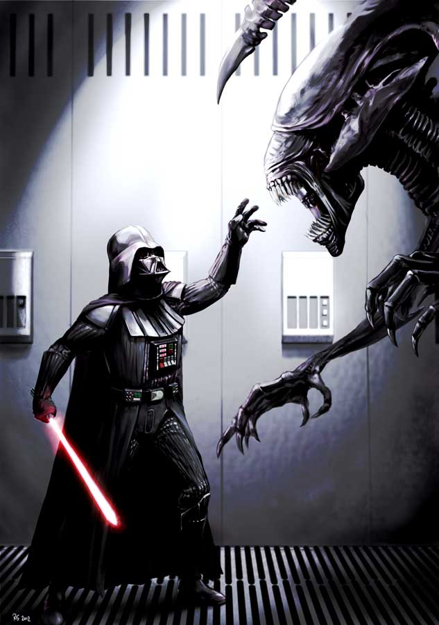 Darth Vader Meets His Match by Robert Shane