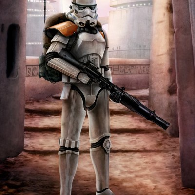 Jedha Patrol Stormtrooper by Richard Philpott