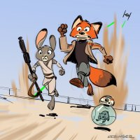 The FURce Awakens! by Brian Kessinger