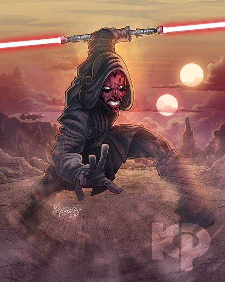 Darth Maul by Kyle Petchcock