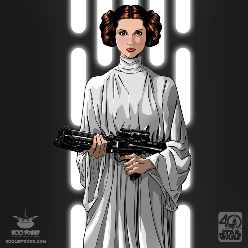 Leia by Michael Pasquale