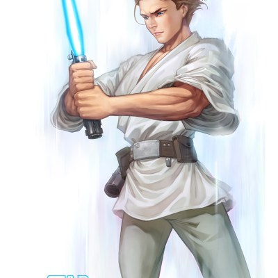 Luke Skywalker by Han Yau Ng