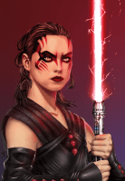 Darth Rey by Ryan Wilton