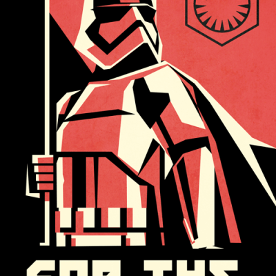 First Order Propaganda Posters x4 by Ai Vo