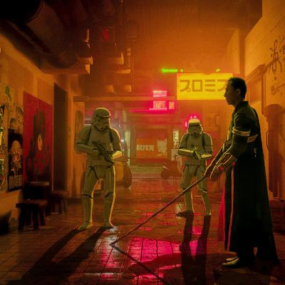 Neo Noir Star Wars by Chris Valiente