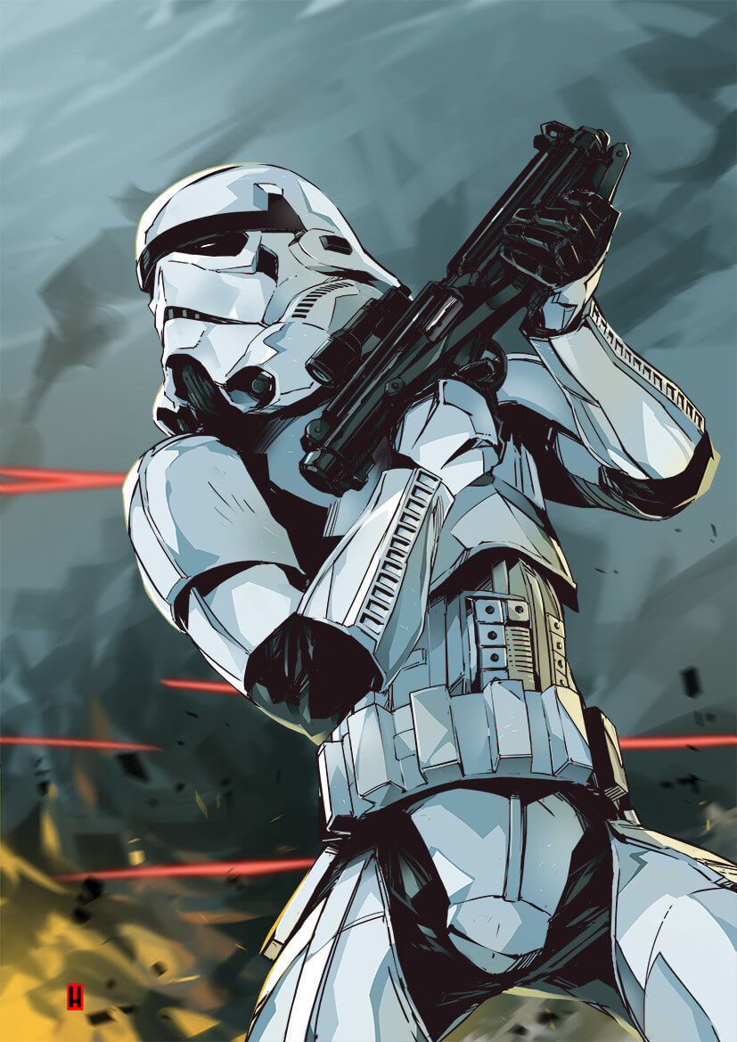 Stormtrooper by Hary Istiyoso