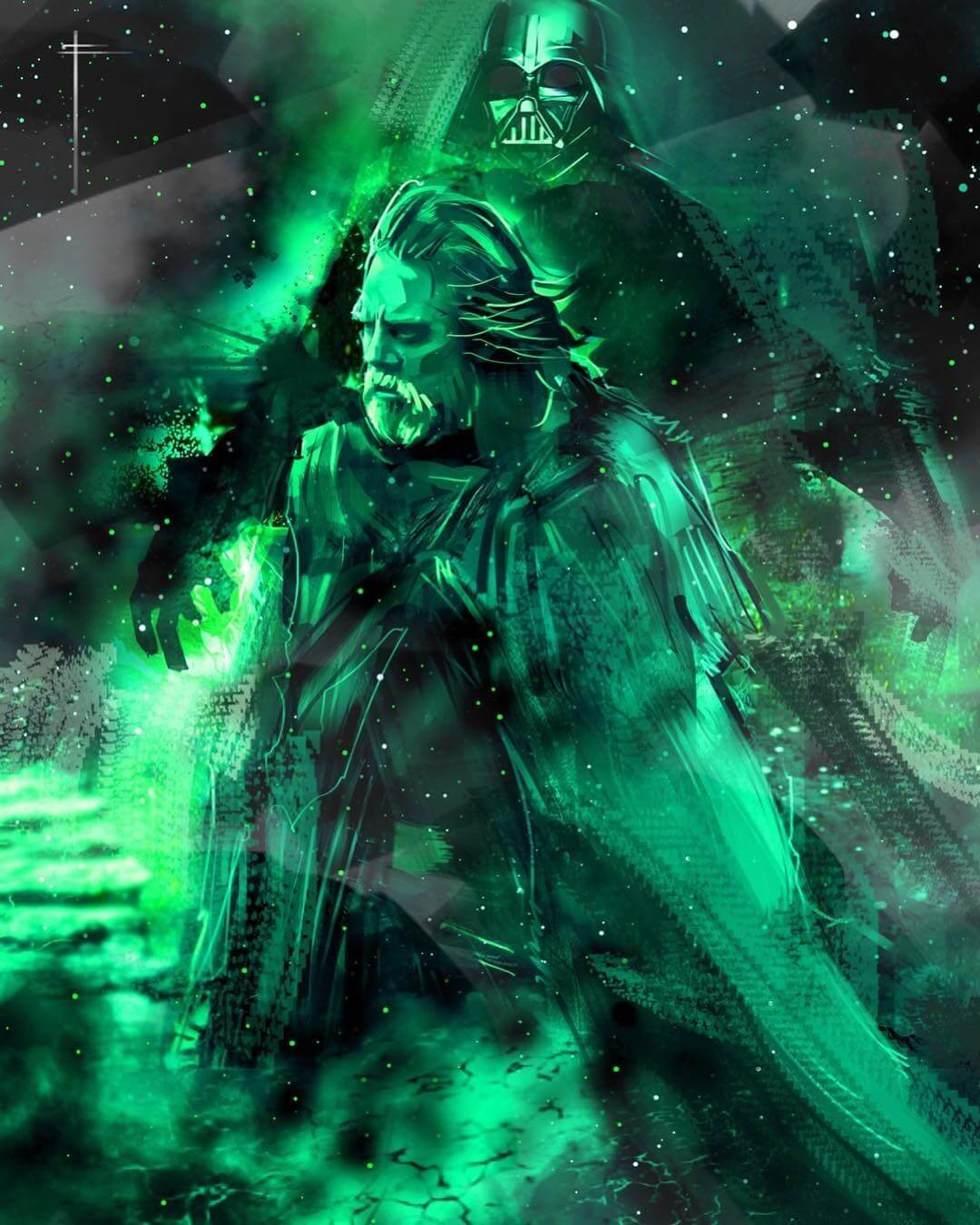 Ghost Of Vader by Eli Hyder