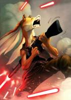 Jar Jar Binks by Zecarlos