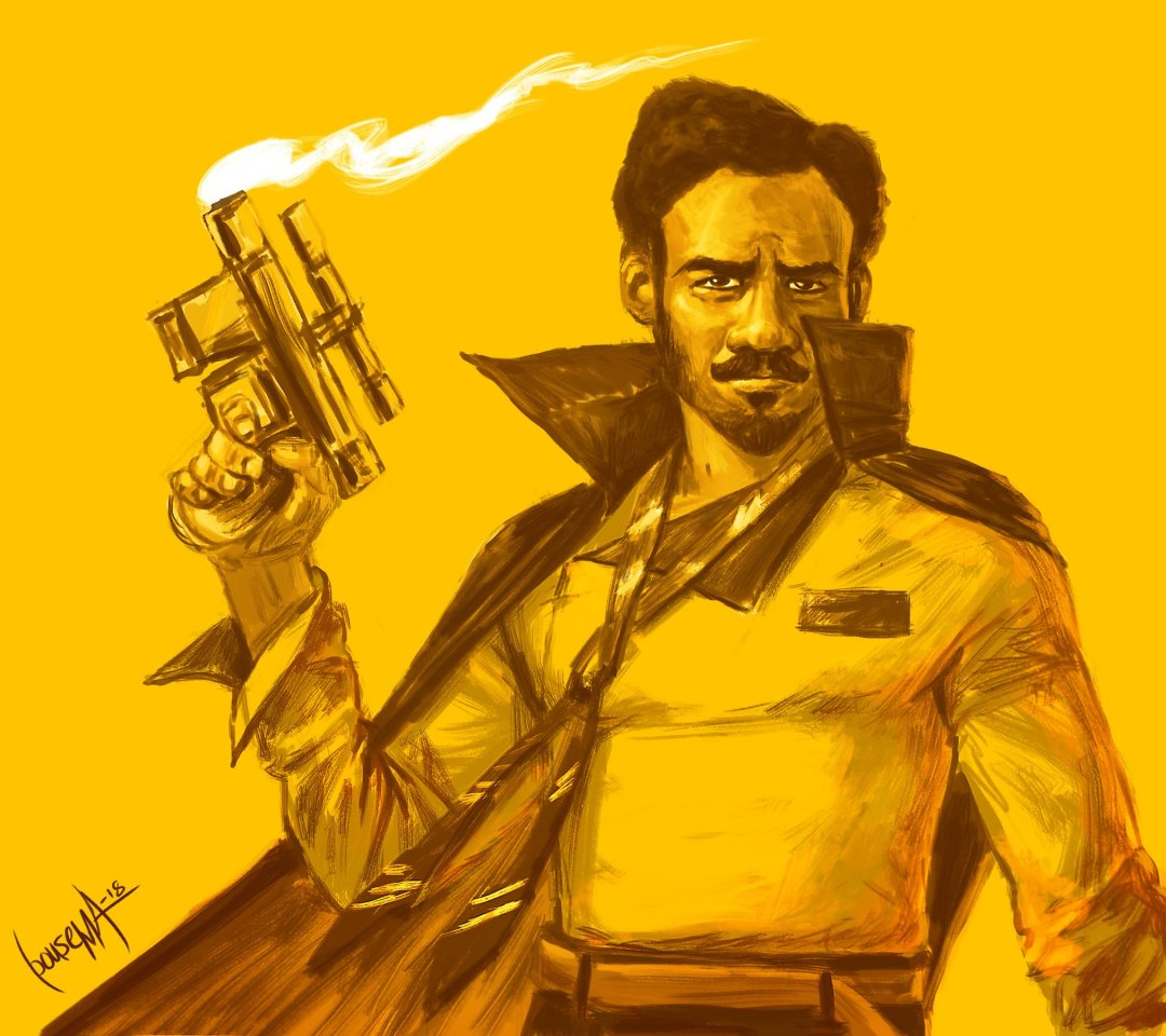 Lando by James Bousema