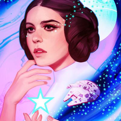 Leia by Crystal Graziano