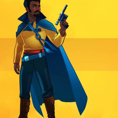 Young Lando by Stephen Byrne