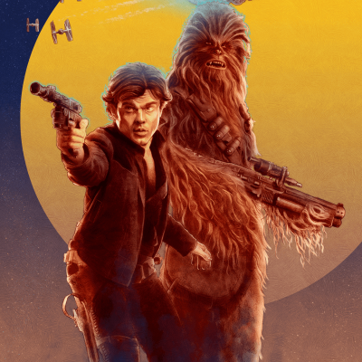 Han & Chewie by Collin Murdoch