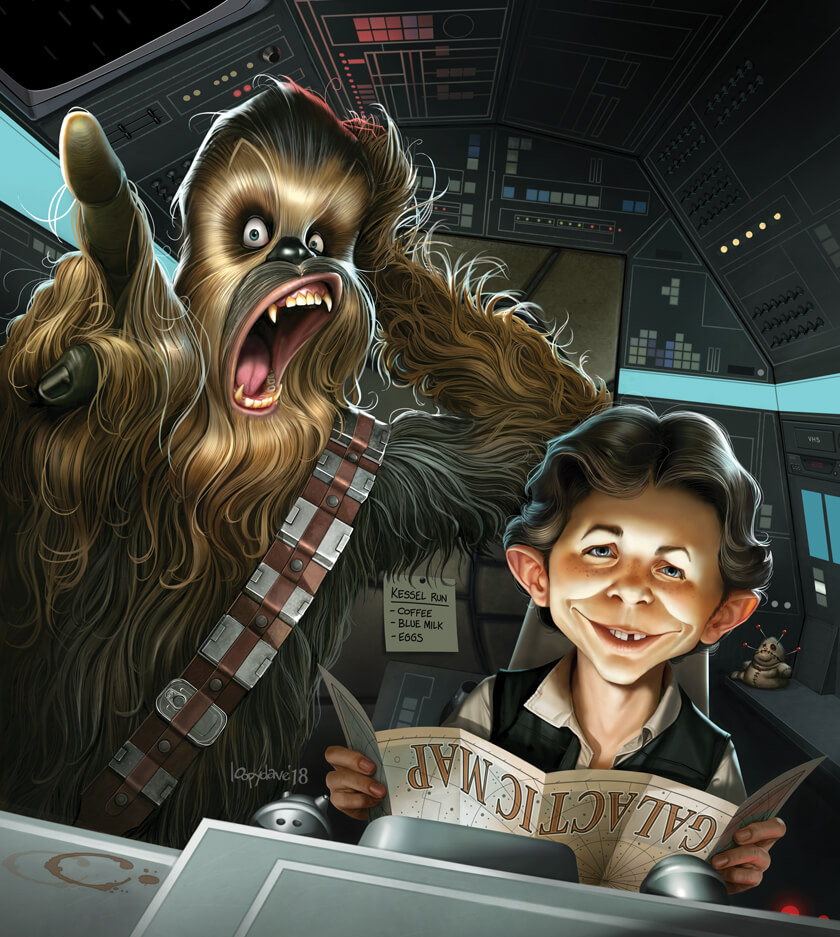 Han & Chewie (Mad Edition)