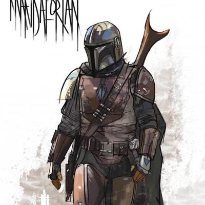 The Mandalorian by Eli Hyder