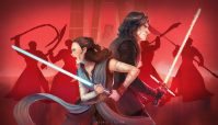 Rey & Kylo by Ili Isa