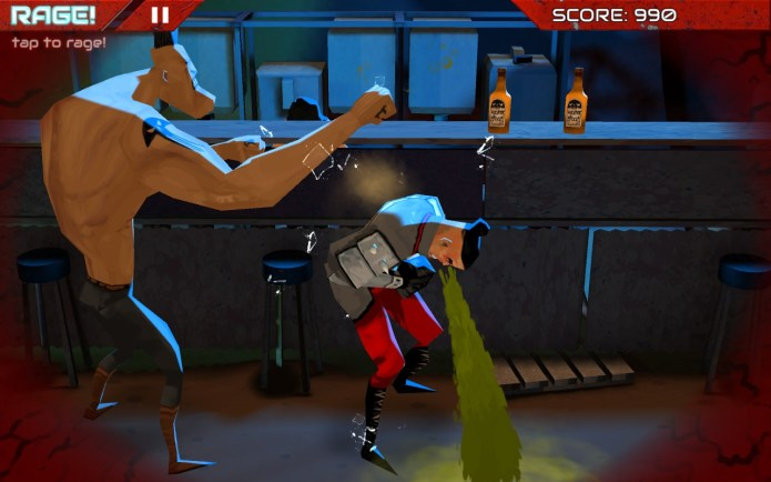 Game Connection and GDC 2015: Wasteland Bar Fight puking