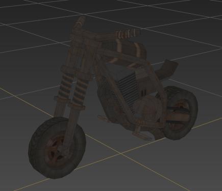 Corp Wars: Karavan - Wastelander Biker
