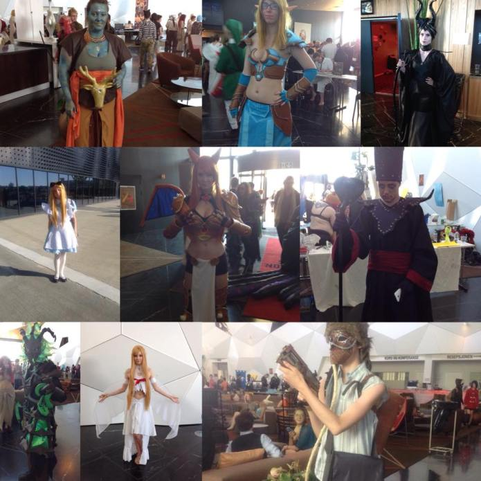 Torucon 2015 cosplay collage