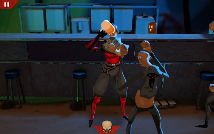 Wasteland Bar Fight by Kybernesis: Gal Beer Time!