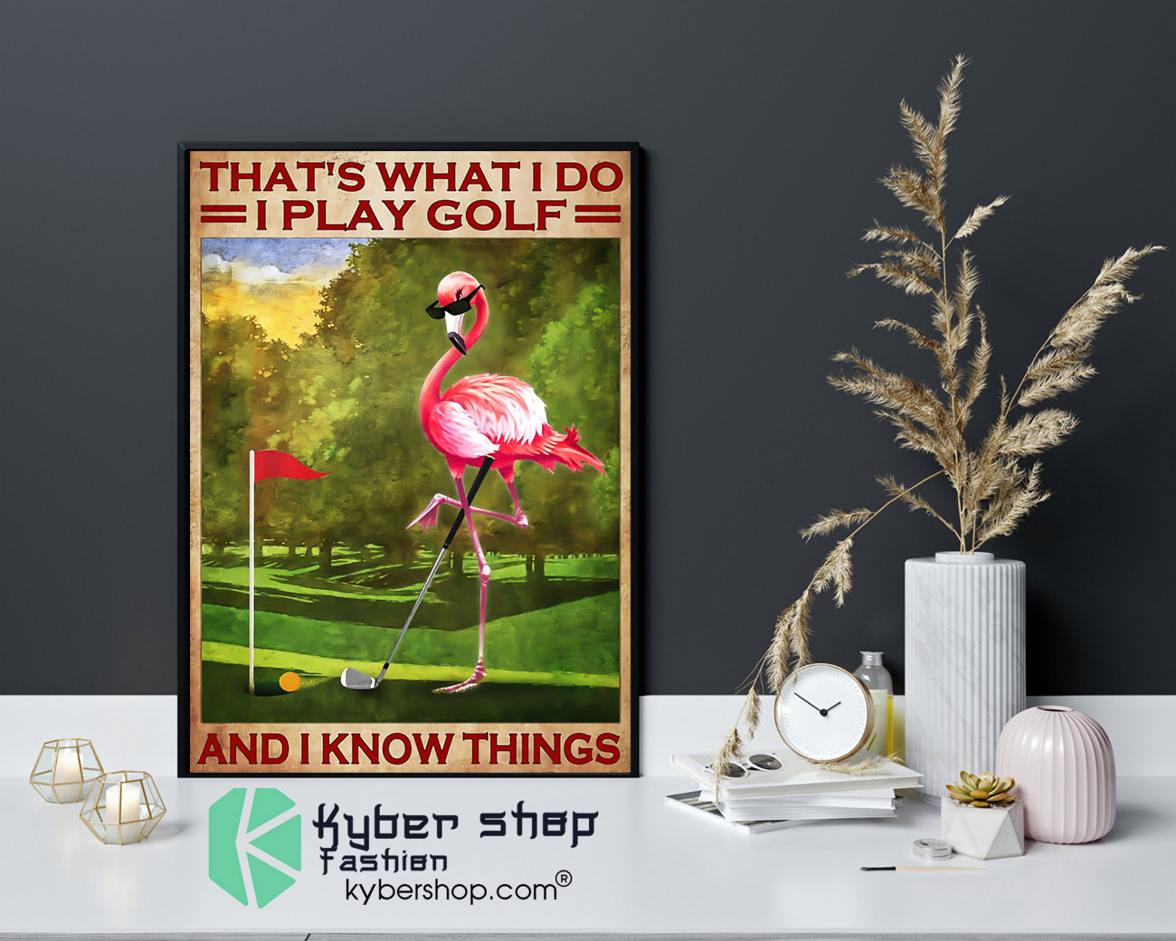 play golf and i know things poster